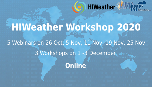 HIWeather Workshop 2020 (find all the recordings here)